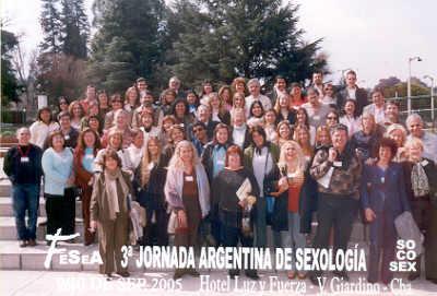 3ra Jornada Argentina de Sexología - Sep. de 2005 - Villa Giardino - Córdoba - Grupo de Participantes