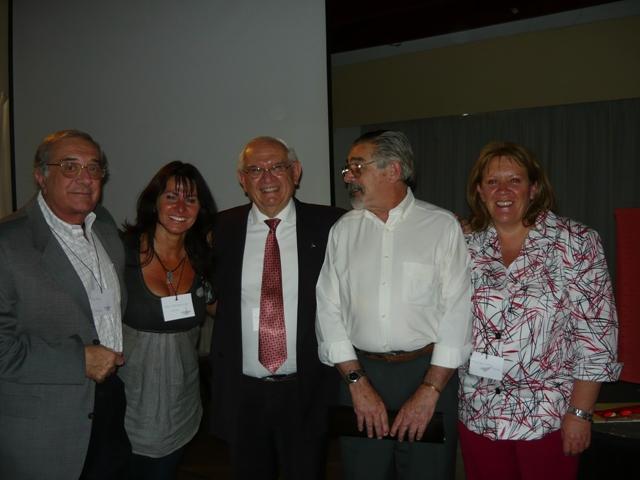 Del Pozo, Van Dembrouke, Flores Colombino, Aller Atucha y Silvia Darrichón