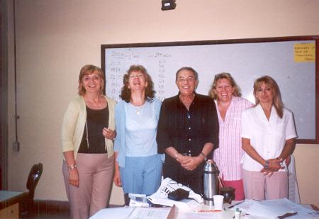 Equipo docente de la formación de post-grado en sexualidad humana organizado por ASEL en el año 2004