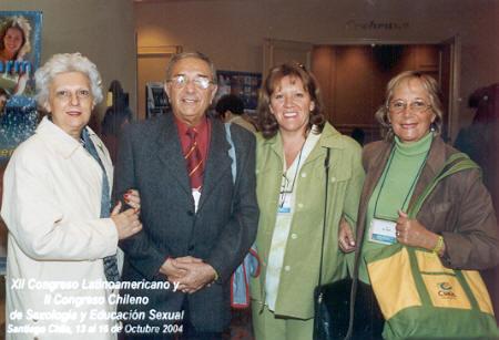 Lucía Wieczorek, Norberto Del Pozo, Silvia Darrichón y Susana Del Pozo