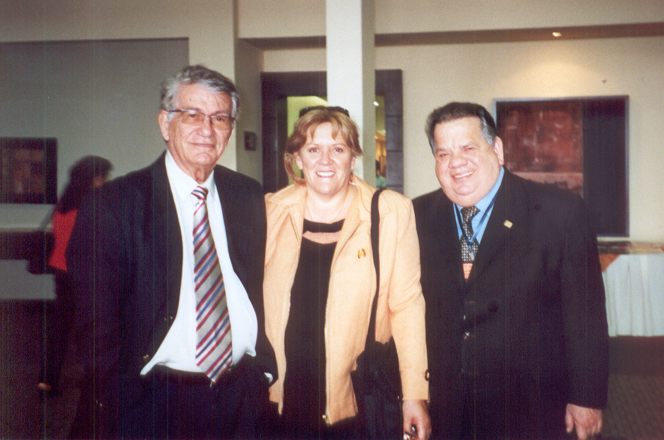 En el CLASES XIV - Guayaquil - Ecuador - Oct. de 2008, junto a Ricardo Cavalcanti y Ruben Hernández Serrano