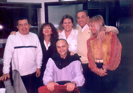 Primer Comisión Directiva de ASeL: Rodolfo Ramos, Patricia Villanueva, Silvia Darrichón, Norberto Del Pozo, Amparo Marcante y Jorge Levin (sentado)